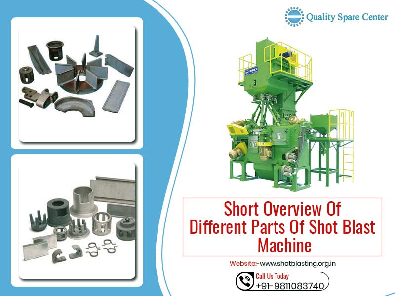 Short Overview of Different Parts of Shot Blast Machine