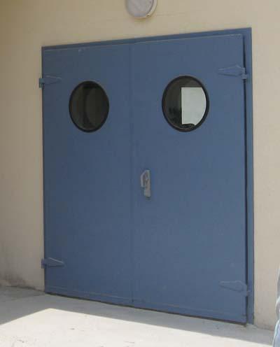 Acoustic door for room