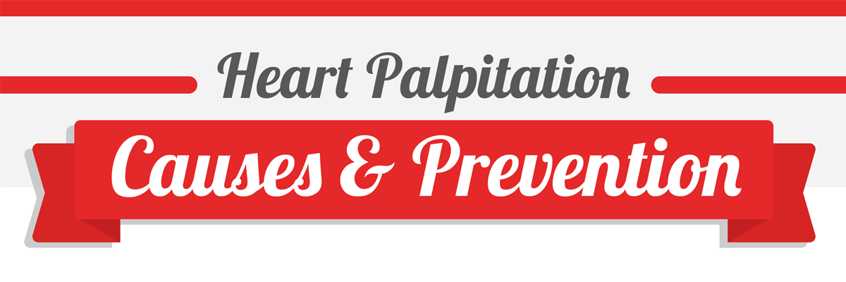 Heart Palpitation Infographic: Causes & Prevention