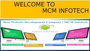 MCM Infotech - Best IT Services Offering Company in Delhi