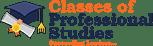 Classes of Professional Studies