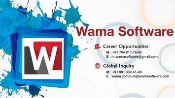 Wama Software - Web Development and Designing Company